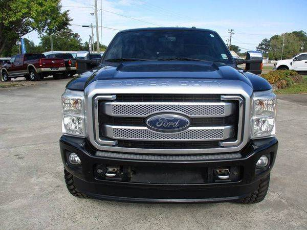 2014 Ford F-250 F250 F 250 Super Duty Platinum 4x4 4dr Crew Cab 6.8... for sale in Jackson, GA – photo 9