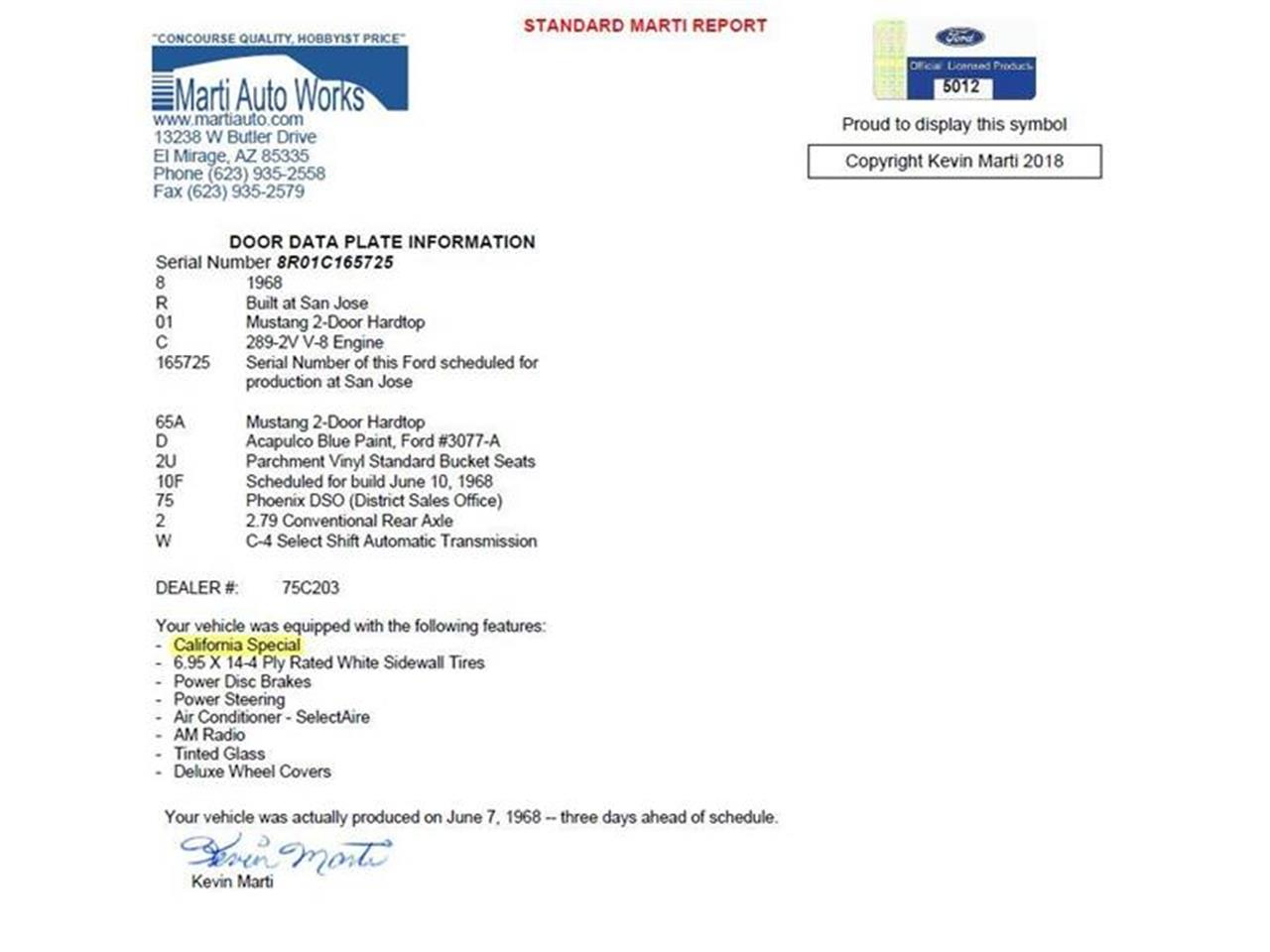1968 Ford Mustang for sale in Hiram, GA – photo 33