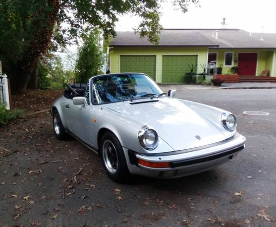 1984 Porsche 911 Carrera Cabriolet for sale in Portland, CA – photo 3