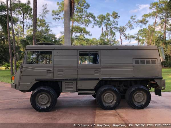 1977 Steyr Puch Pinzgauer 712K 6x6 Hard top! Very rare, Hard to find v for sale in Naples, FL – photo 6