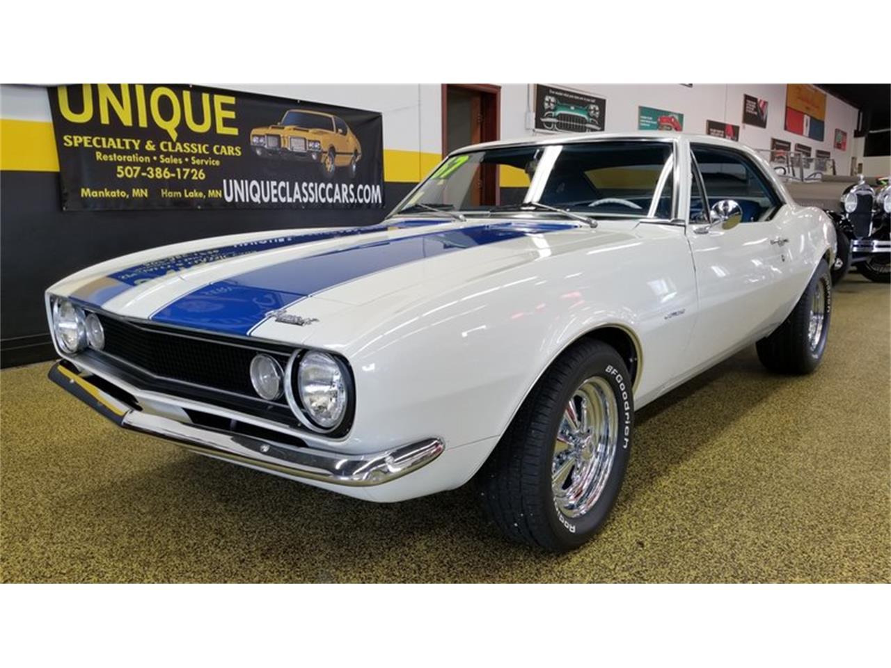 Classic Cars For Sale Mn >> 1967 Chevrolet Camaro For Sale In Mankato Mn