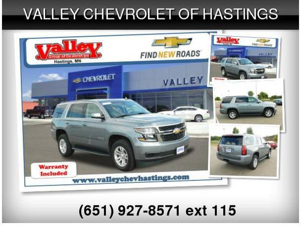 2020 Chevrolet Chevy Tahoe Lt Cars Trucks By Dealer Vehicle For Sale In Hastings Mn Classiccarsbay Com