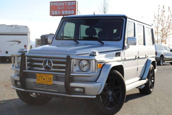 2003 mercedes g wagon g55 amg low miles 5 5l v8 loaded for sale in anchorage ak classiccarsbay com 2003 mercedes g wagon g55 amg low