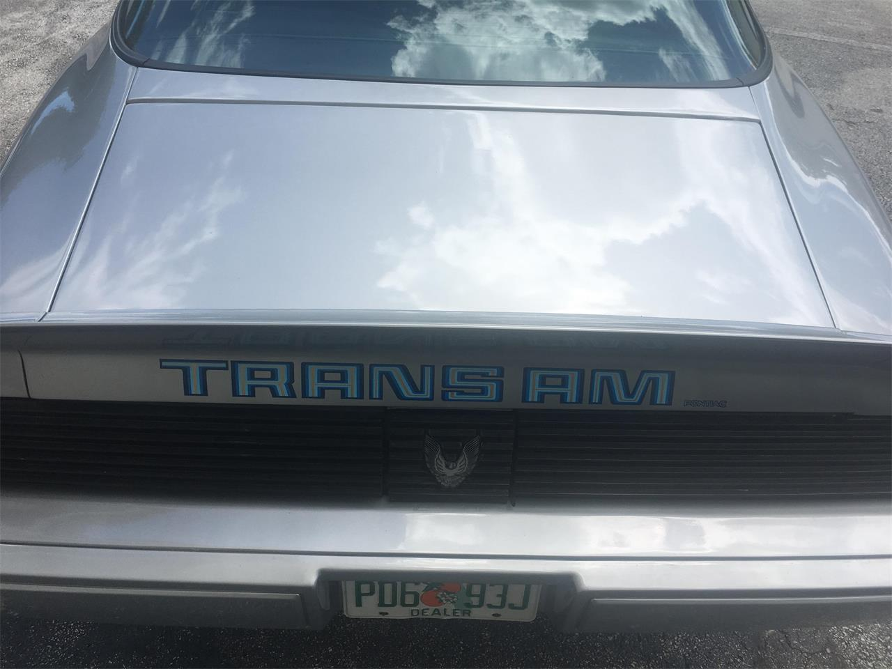 1981 Pontiac Firebird Trans Am for sale in Ponte Verda Beach, FL – photo 12