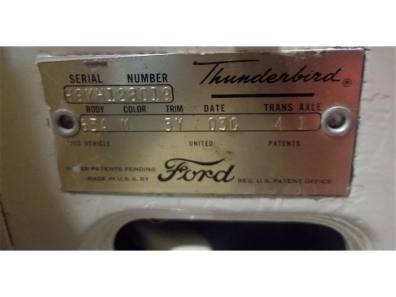 1959 Ford Thunderbird for sale in Cadillac, MI – photo 13