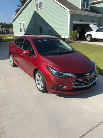 2017 Chevy Cruze Premier for sale in Summerville , SC