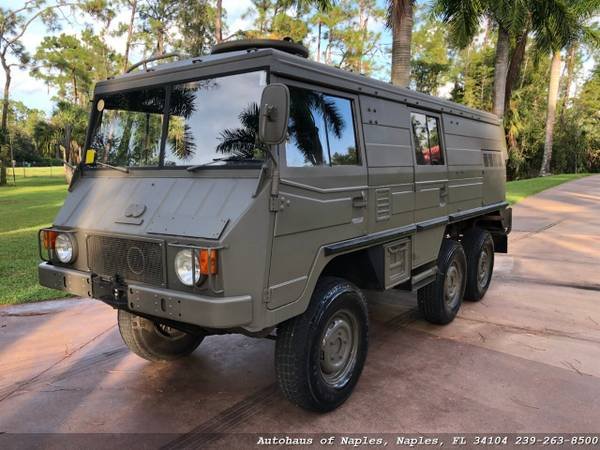 1977 Steyr Puch Pinzgauer 712K 6x6 Hard top! Very rare, Hard to find v for sale in Naples, FL – photo 7