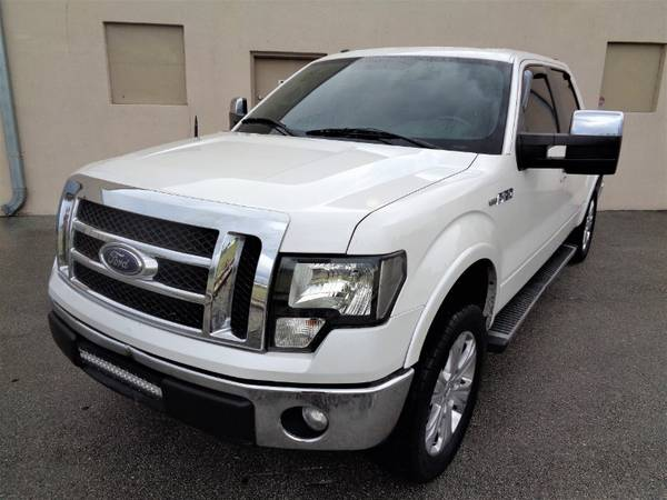 "2012 Ford F-150 2WD SuperCrew 145"" Lariat - cars & trucks - by... for sale in Miami, FL – photo 7"