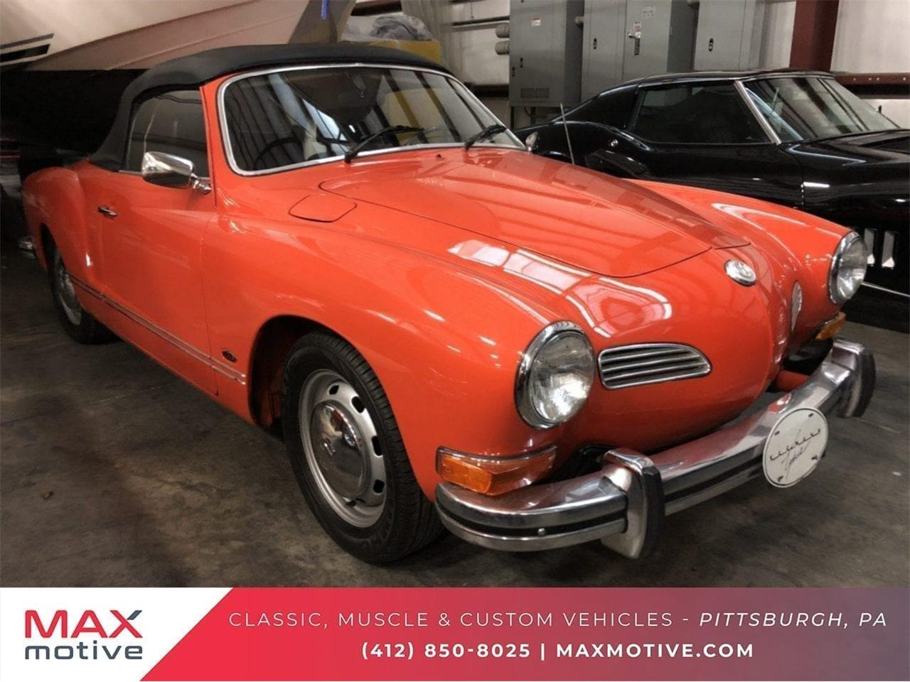 1974 Volkswagen Karmann Ghia for sale in Pittsburgh, PA – photo 53