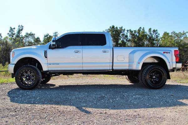 2017 Ford F350 Platinum Bds Lift Fox Shocks Massage Seats Sun Roof For Sale In Liberty Hill Tx Classiccarsbay Com