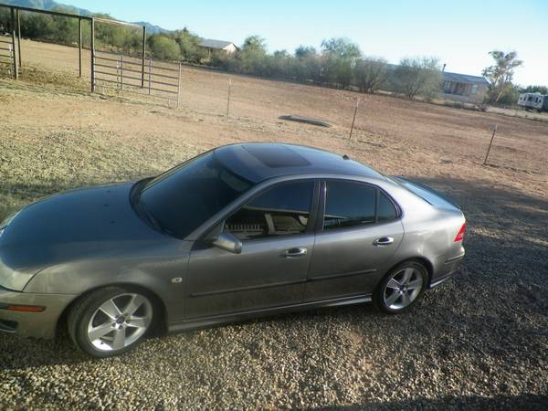 2006 SAAB MODEL 9-3 V-6 TURBO LOW MILES LOOKS AND RUNS LIKE NEW ONLY for sale in Rillito, AZ