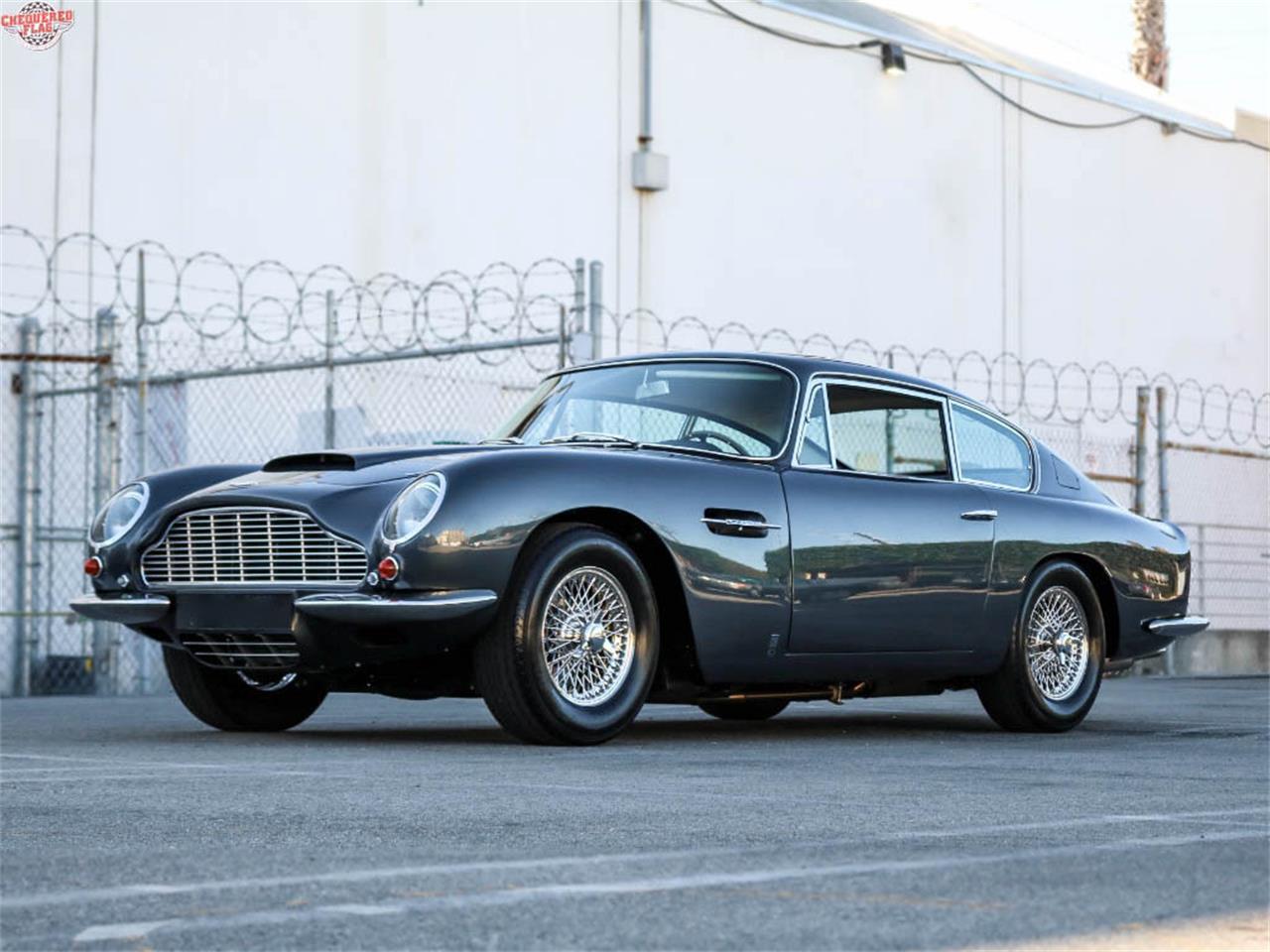 1967 Aston Martin Db6 For Sale In Marina Del Rey Ca Classiccarsbay Com