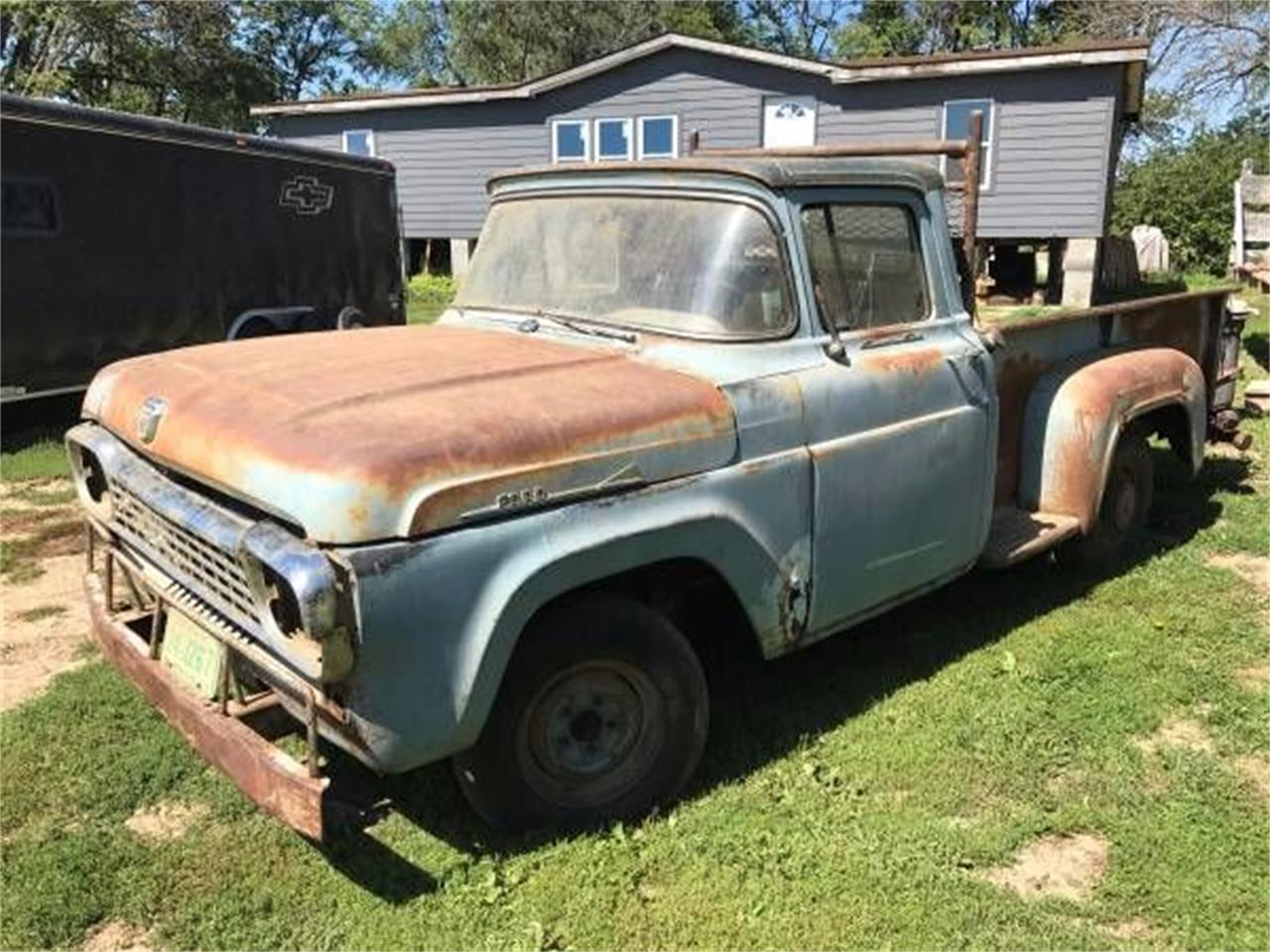 1958 Ford F100 for sale in Cadillac, MI