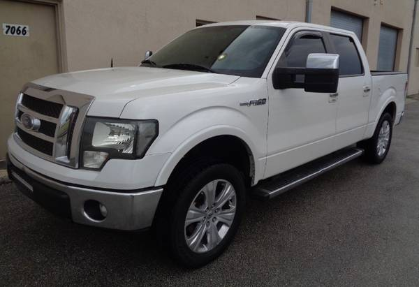 "2012 Ford F-150 2WD SuperCrew 145"" Lariat - cars & trucks - by... for sale in Miami, FL – photo 21"
