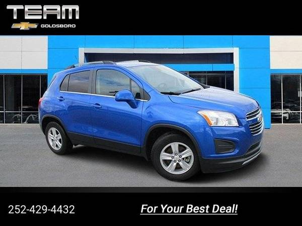 2016 Chevy Chevrolet Trax Lt Suv Blue For Sale In Goldsboro Nc Classiccarsbay Com