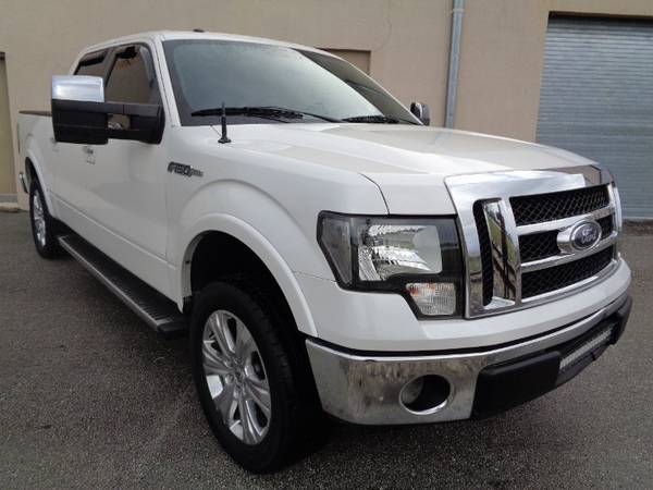 "2012 Ford F-150 2WD SuperCrew 145"" Lariat - cars & trucks - by... for sale in Miami, FL – photo 23"