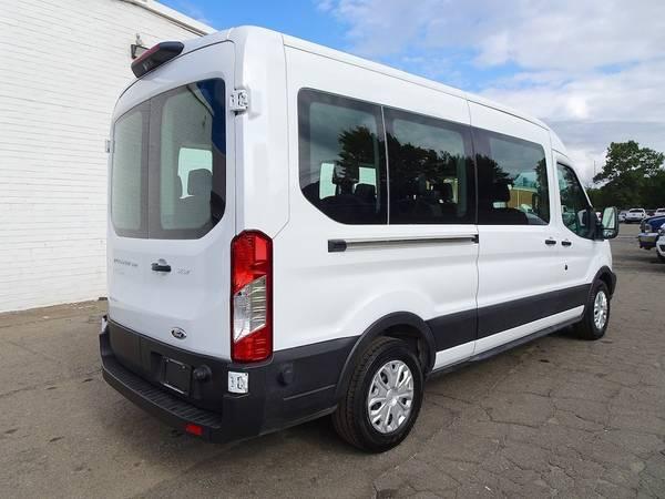 Ford 15 Passenger vans Shuttle Bus Cargo Church Van Party ...