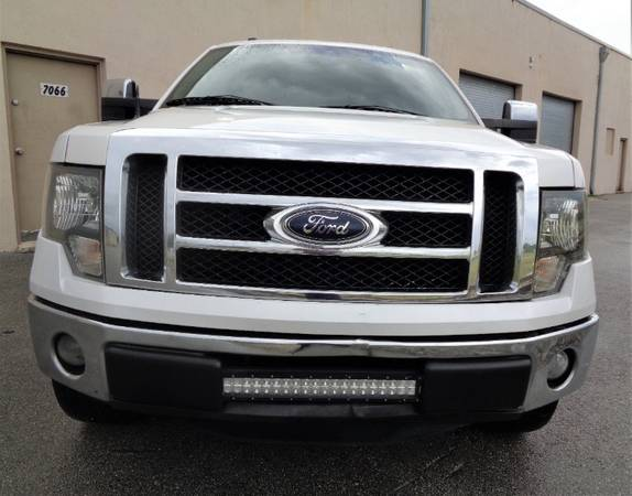 "2012 Ford F-150 2WD SuperCrew 145"" Lariat - cars & trucks - by... for sale in Miami, FL – photo 5"