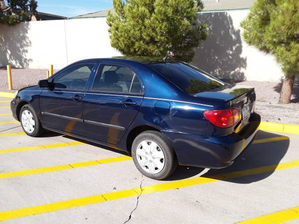 2006 Toyota Corolla LE, 159K miles - cars & trucks - by owner -... for sale in Glendale, AZ – photo 6