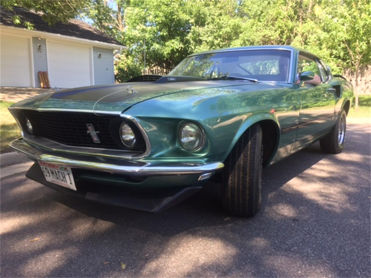 1969 Ford Mustang Mach 1 for sale in WESTON, WI
