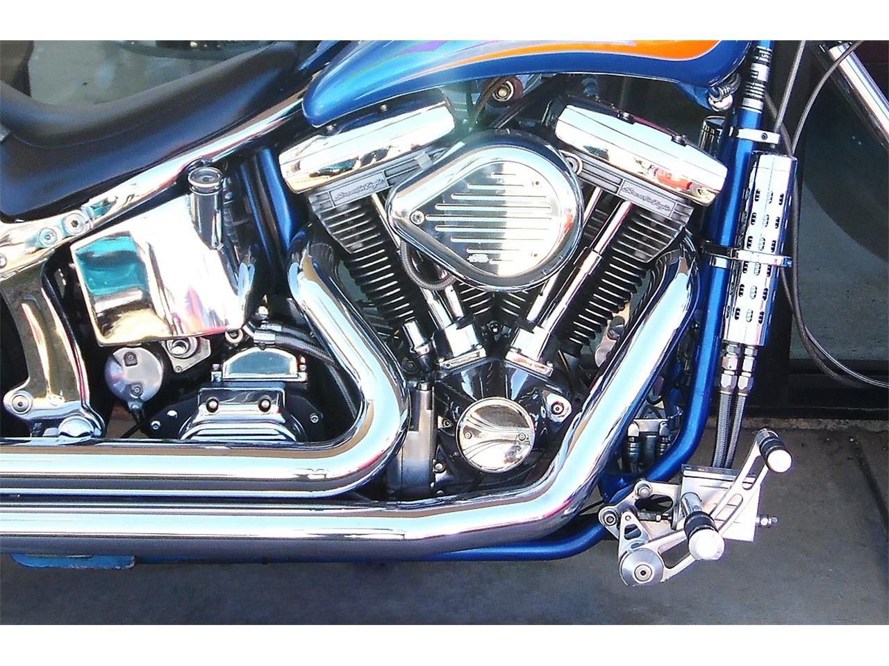 2000 Lifecycle Custom Red Horse Softail for sale in Redlands, CA – photo 10