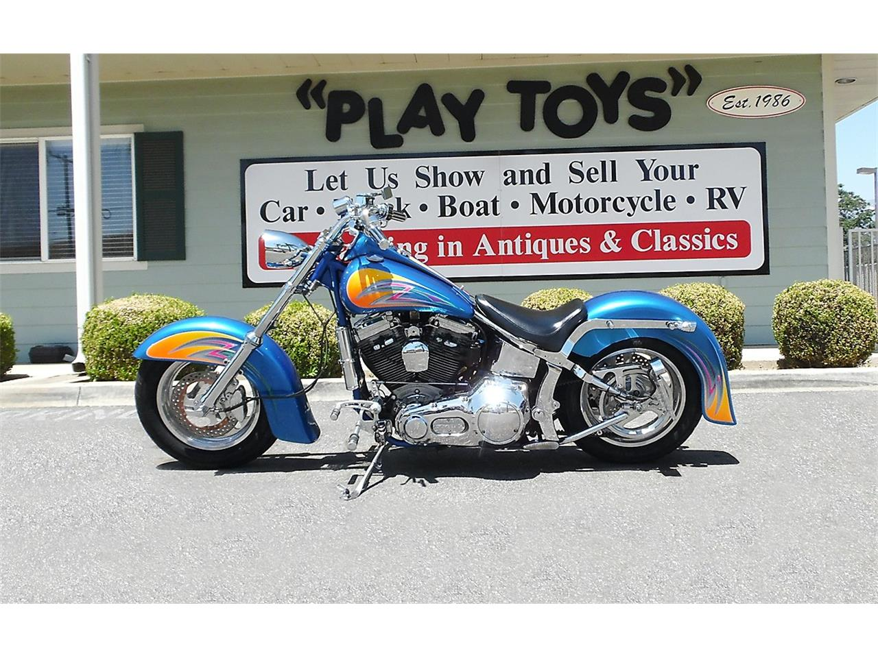 2000 Lifecycle Custom Red Horse Softail for sale in Redlands, CA – photo 8