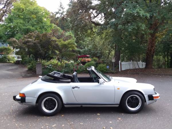 1984 Porsche 911 Carrera Cabriolet for sale in Portland, CA – photo 17