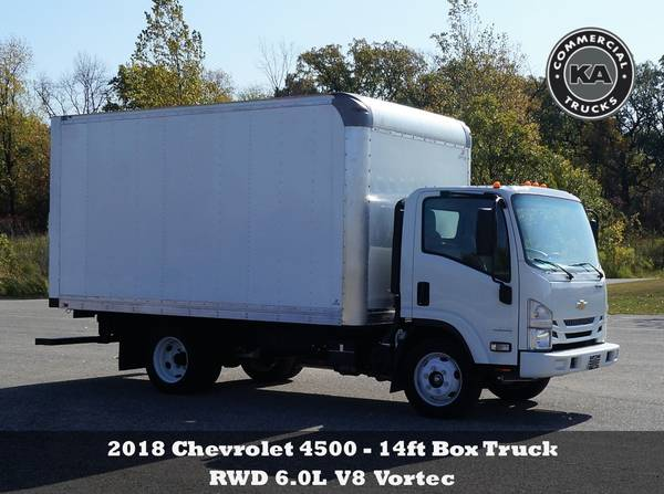 2018 Ford F550 XL - 9ft Flatbed - 4WD 6.7L V8 Utility Dump Box Truck... for sale in Dassel, MT – photo 13