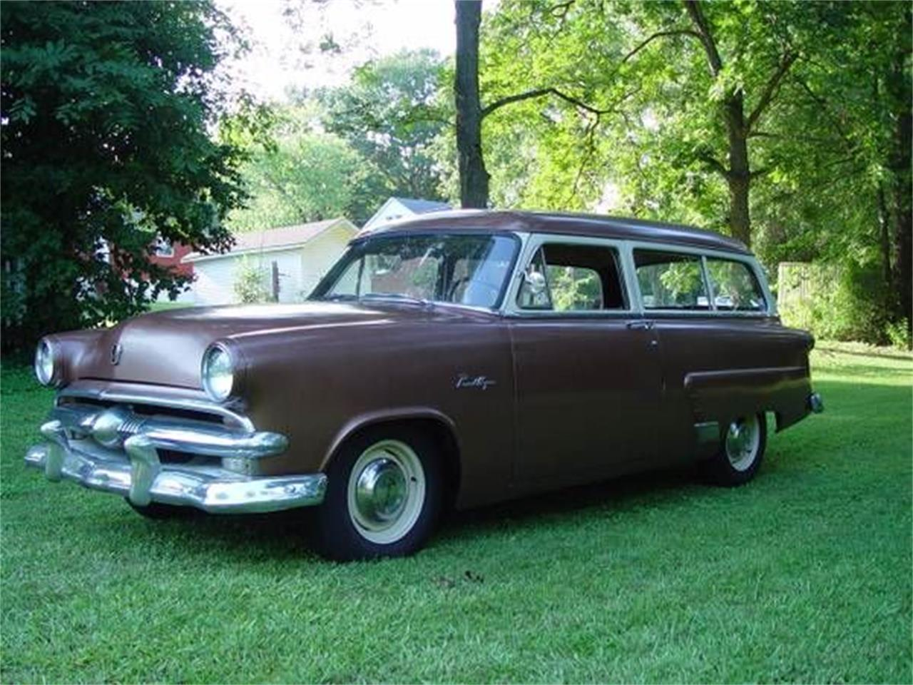 1953 Ford Ranch Wagon for sale in Cadillac, MI