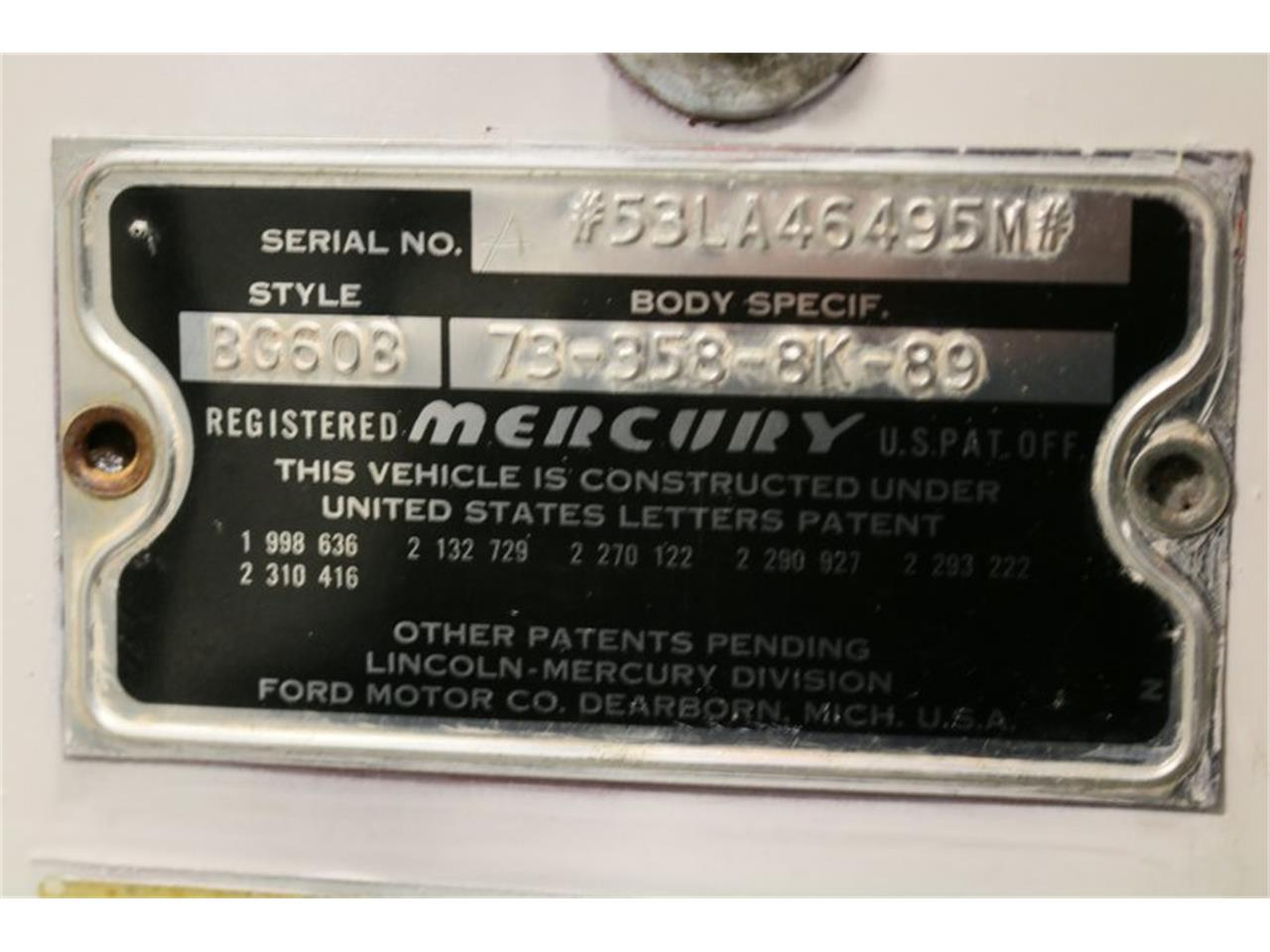1953 Mercury Monterey for sale in Ft Worth, TX – photo 67