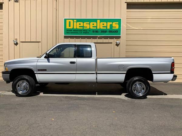 1996 dodge ram 2500 5 9l 12valve cummins diesel 5 speed manual 4x4 for sale in sacramento ca classiccarsbay com 1996 dodge ram 2500 5 9l 12valve