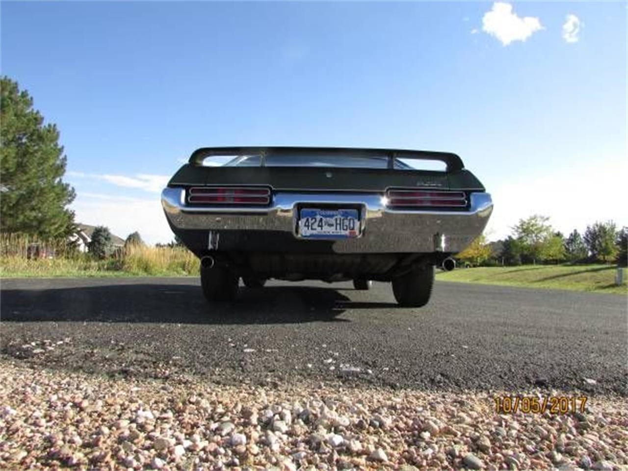 1969 Pontiac Gto For Sale In Cadillac  Mi    Classiccarsbay Com