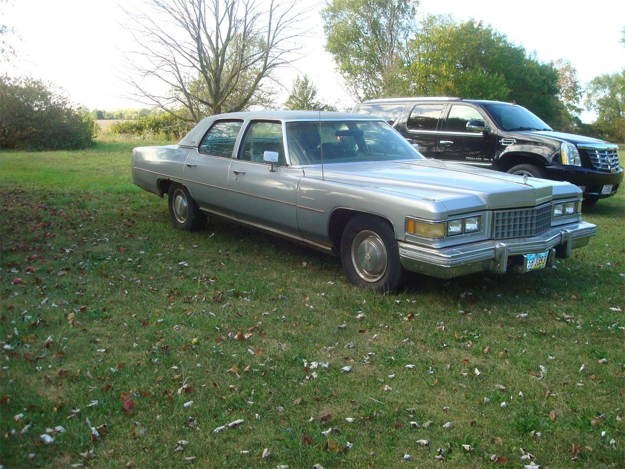 1976 Cadillac Fleetwood Brougham d'Elegance for sale in New London, OH – photo 3