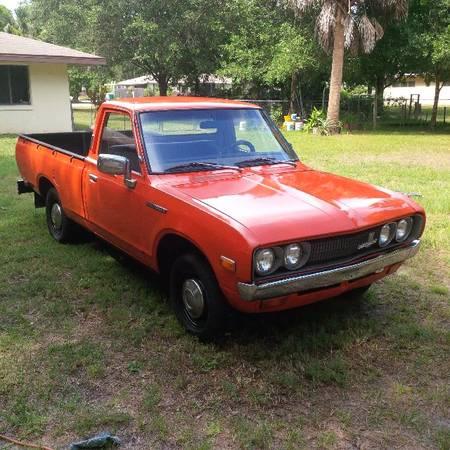 1973 Datsun 620 Pickup Truck For Sale In Melbourne Fl Classiccarsbay Com