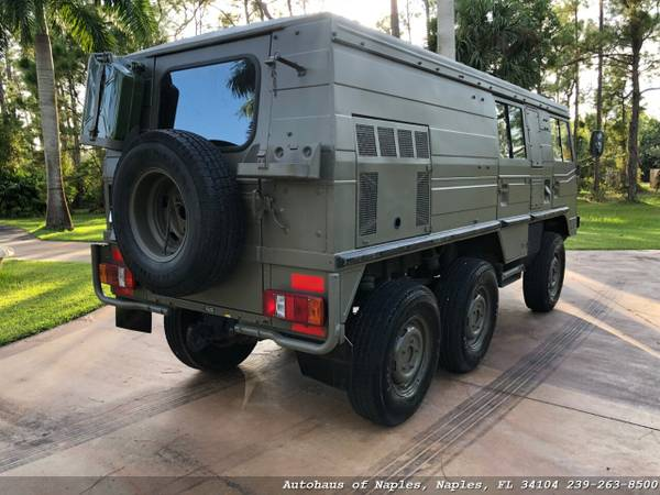1977 Steyr Puch Pinzgauer 712K 6x6 Hard top! Very rare, Hard to find v for sale in Naples, FL – photo 3