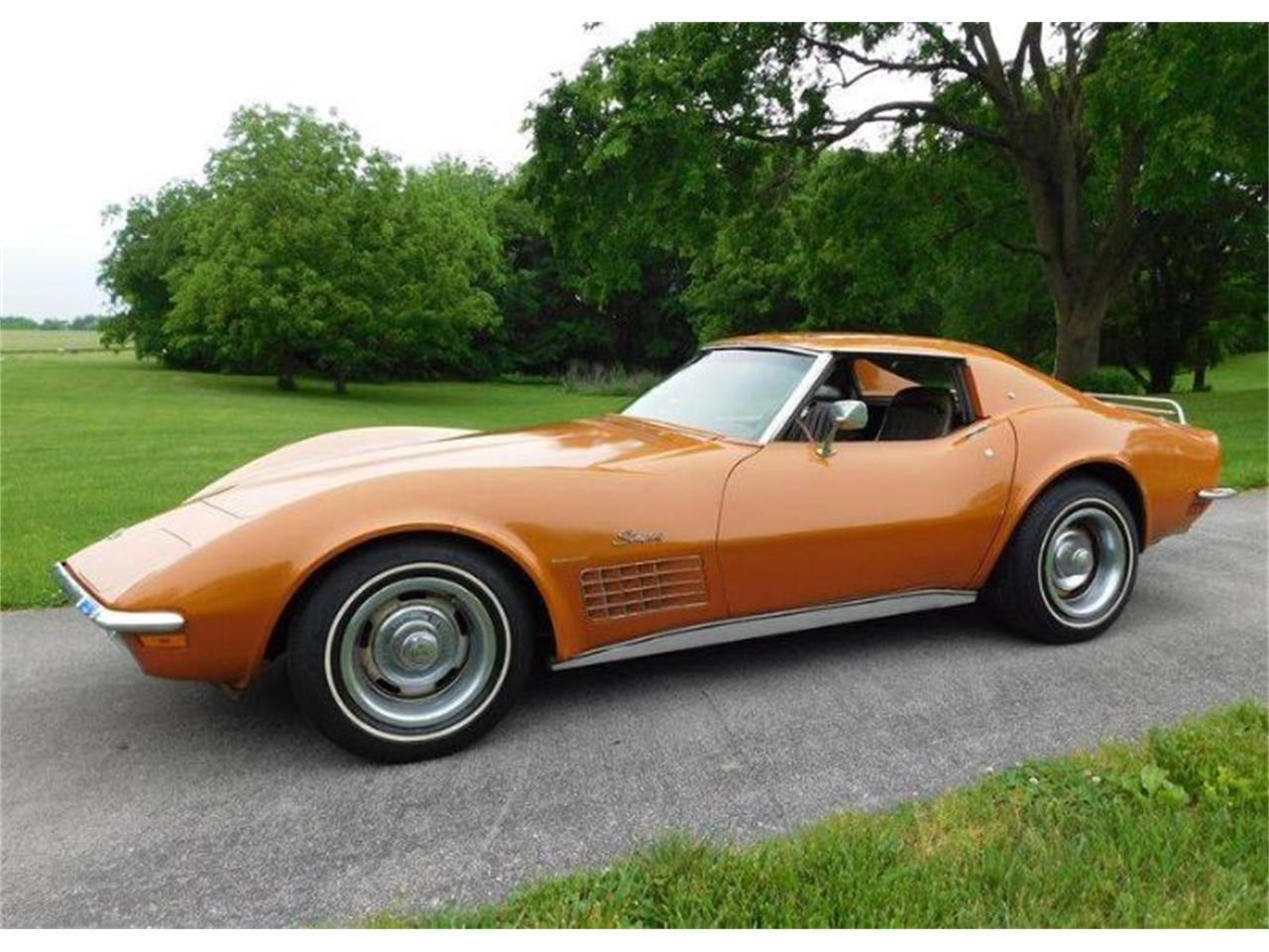 1971 Chevrolet Corvette for sale in Cadillac, MI