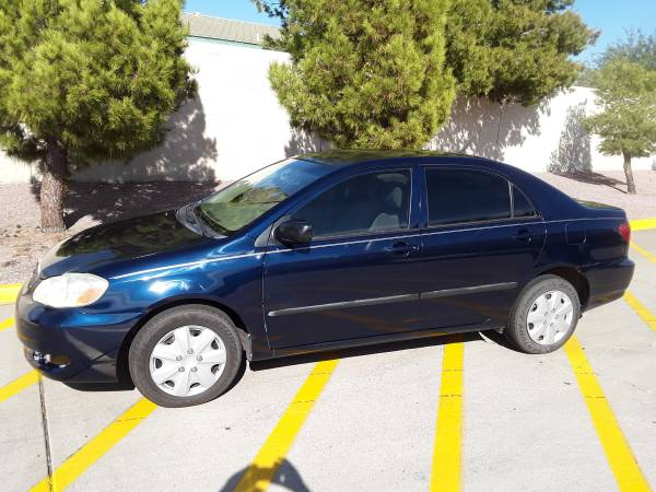 2006 Toyota Corolla LE, 159K miles - cars & trucks - by owner -... for sale in Glendale, AZ