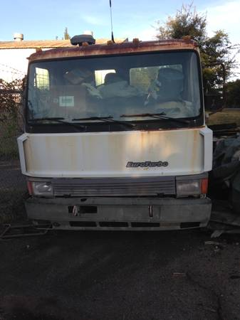 IVECO 1989 ROLLBACK PROJECT CHEVRON 20 ft ALUMINUM BED AND SPARE TRUCK for sale in Athens, GA – photo 11