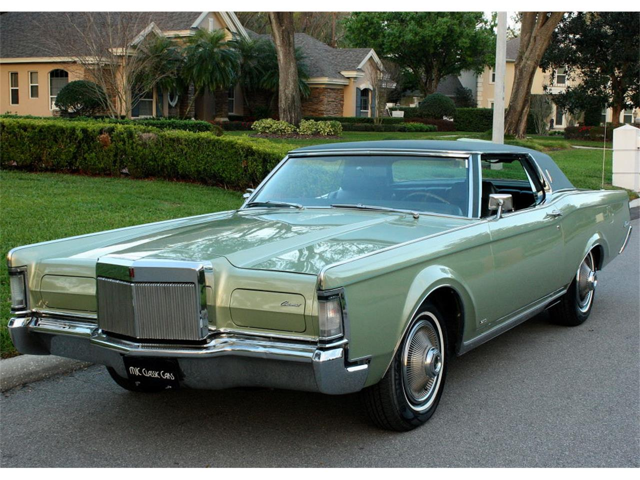 1969 Lincoln Continental Mark Iii For Sale In Lakeland Fl Classiccarsbay Com