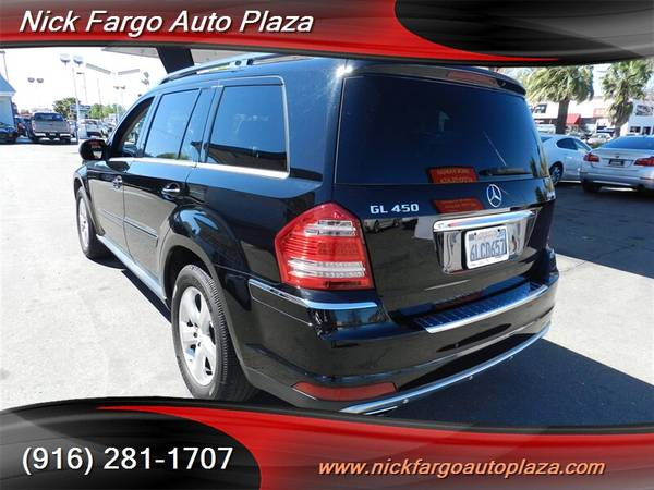 2010 MERCEDES-BENZ GL450 $3800 DOWN $195 PER MONTH(OAC)100%APPROVAL YO for sale in Sacramento , CA – photo 3