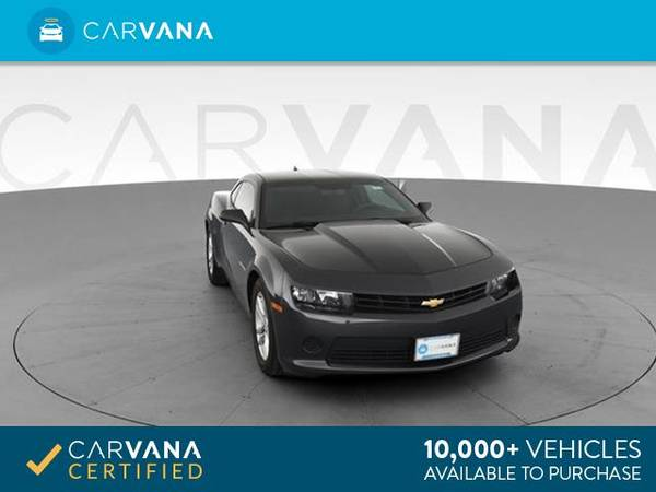 2014 Chevy Chevrolet Camaro LS Coupe 2D coupe Dk. Gray - FINANCE for sale in Eaton Rapids, MI