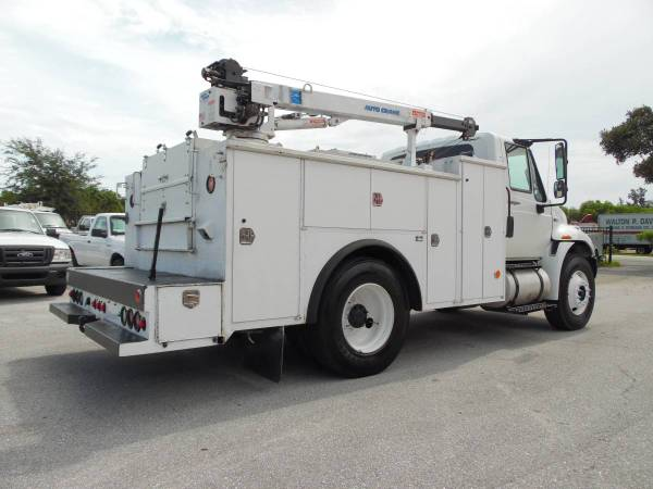 International Tool Utility body *CRANE Truck* MECHANIC SERVICE TRUCK for sale in West Palm Beach, FL – photo 7