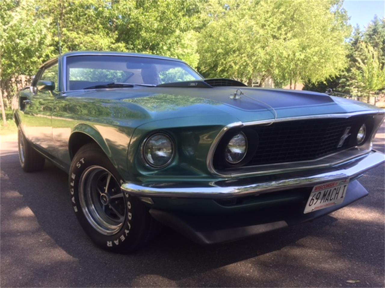 1969 Ford Mustang Mach 1 for sale in WESTON, WI – photo 2
