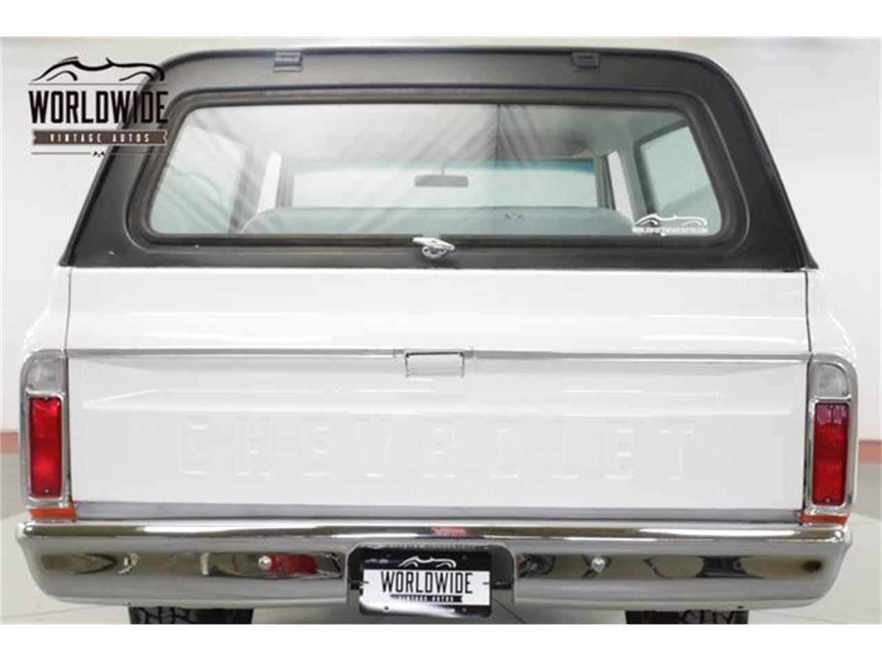1969 Chevrolet Blazer for sale in Denver , CO – photo 19