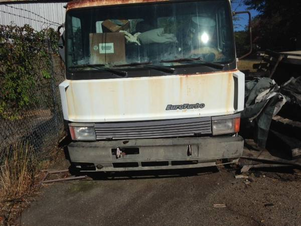 IVECO 1989 ROLLBACK PROJECT CHEVRON 20 ft ALUMINUM BED AND SPARE TRUCK for sale in Athens, GA – photo 9
