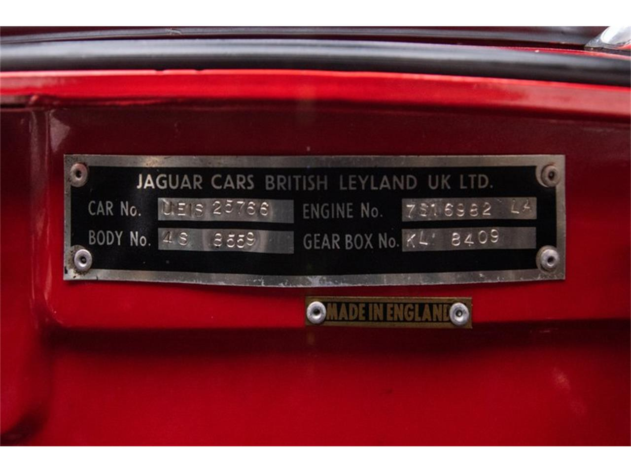 1974 Jaguar E-Type for sale in Charlotte, NC – photo 42