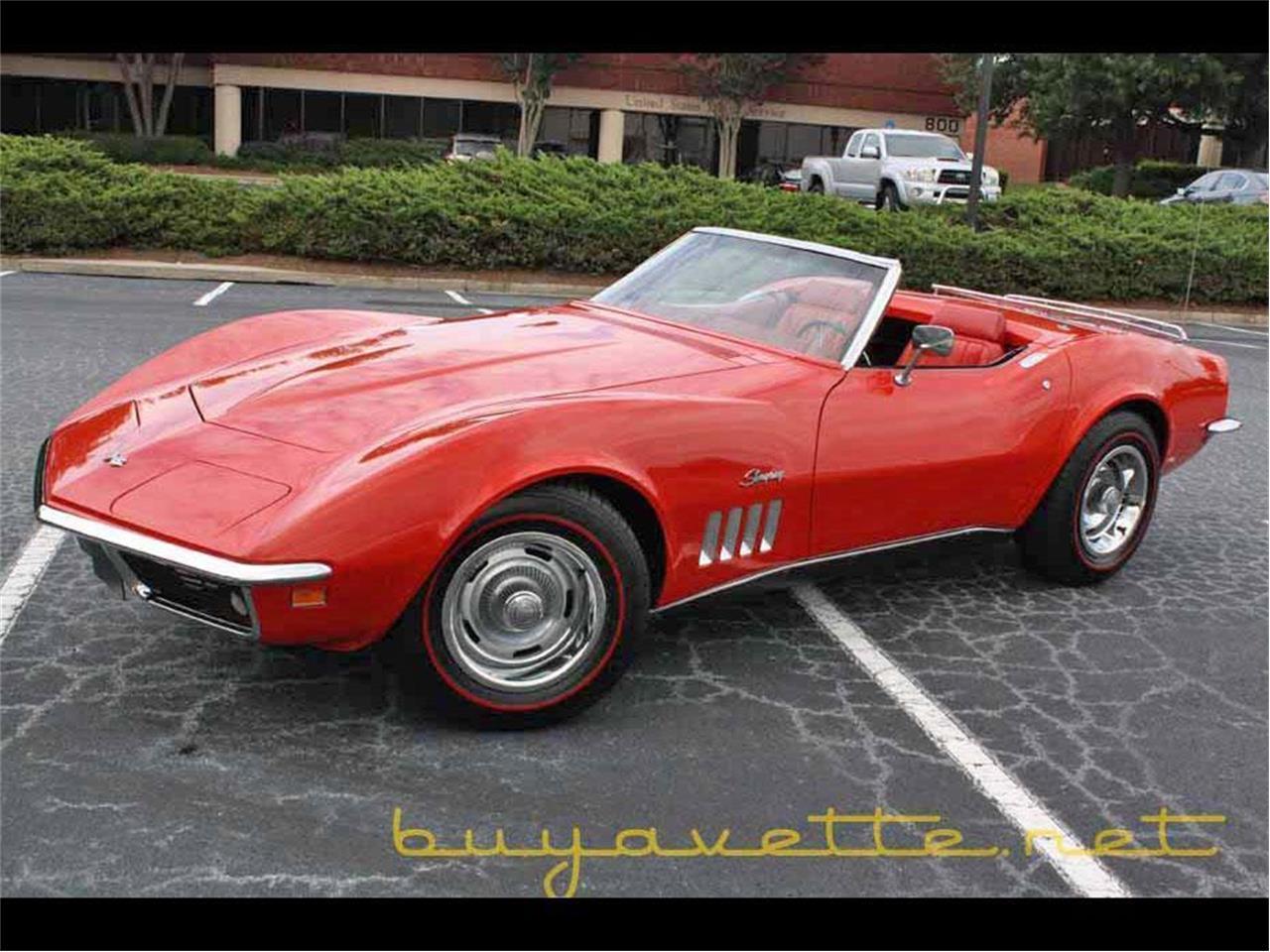 Corvette For Sale In Ga >> 1969 Chevrolet Corvette For Sale In Atlanta Ga