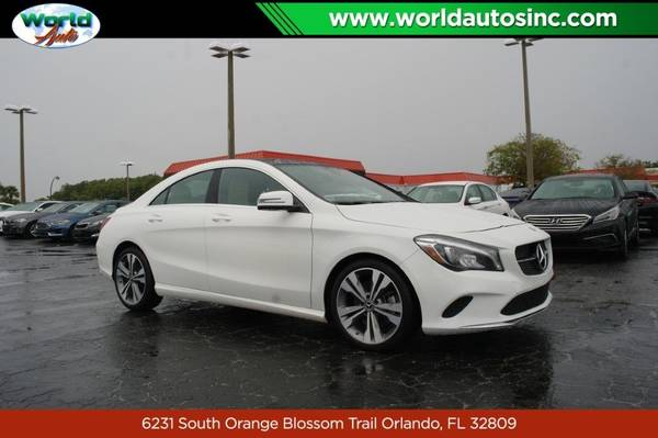 2019 Mercedes-Benz CLA-Class CLA250 $729 DOWN $105/WEEKLY for sale in Orlando, FL