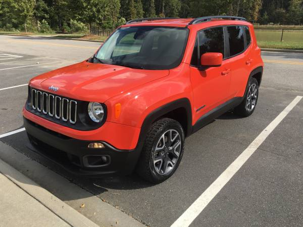 2017 Jeep Renegade 4X4 24 mi, Excellent shape! Make an offer! - cars... for sale in Matthews, SC – photo 2