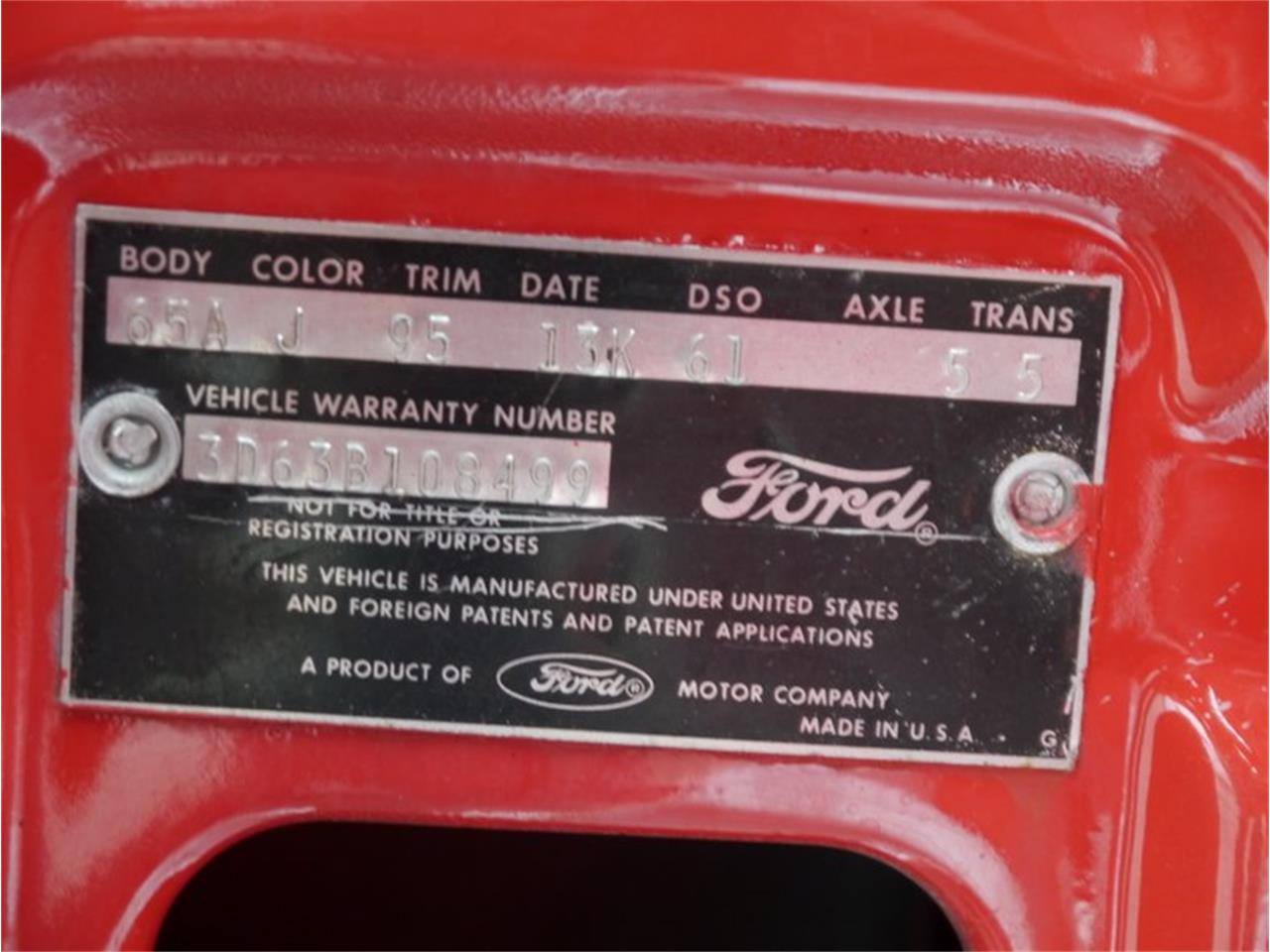 1963 Ford Galaxie 500 for sale in Alsip, IL – photo 27
